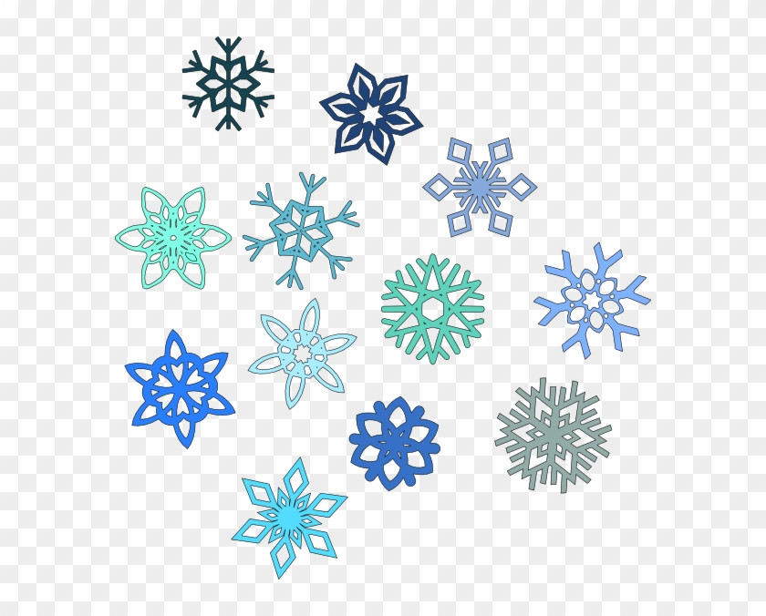 Snowflake clipart transparent background
