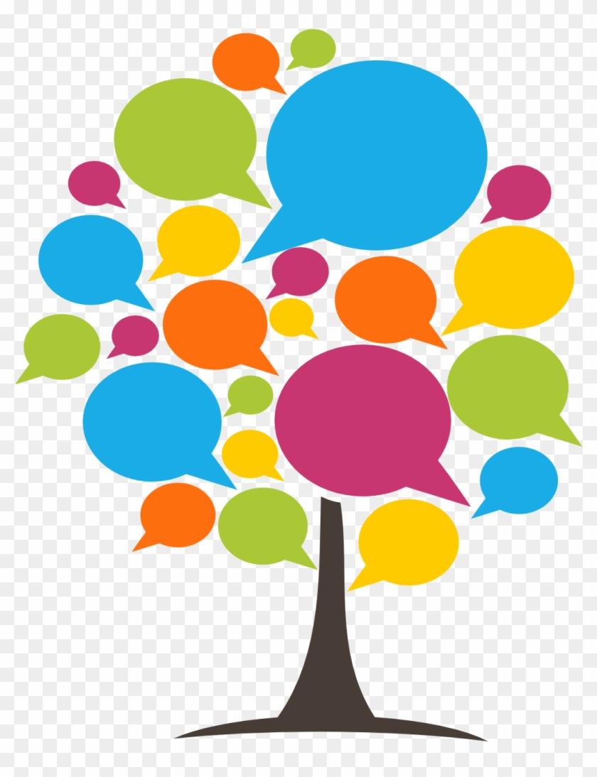 Speech Tree - Speech Therapy Clip Art #186418