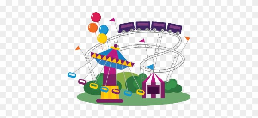 Amusement Park Clipart The Arts Image Pbs Learningmedia - Ferris Wheel Clipart Fun Park #186559