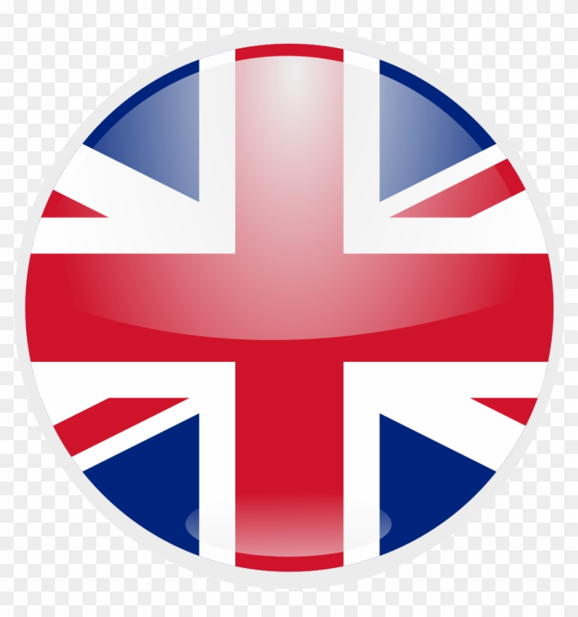 British Flag Round Vector - Free Transparent PNG Clipart ...