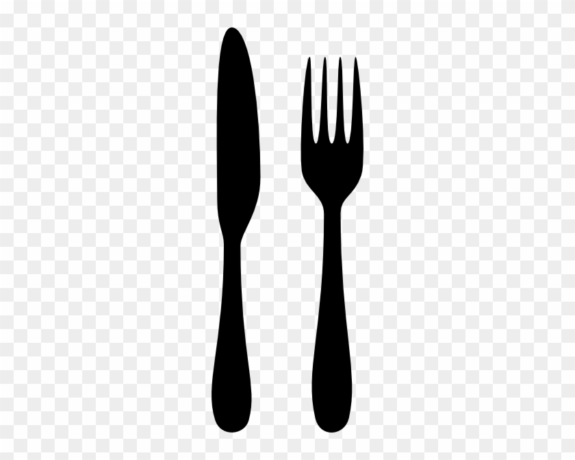 Fork And Knife Silhouette #186781