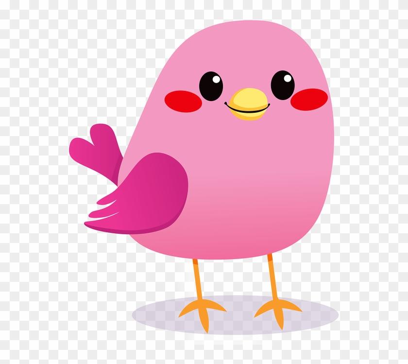 Pink Bird - Stock Photography #186813