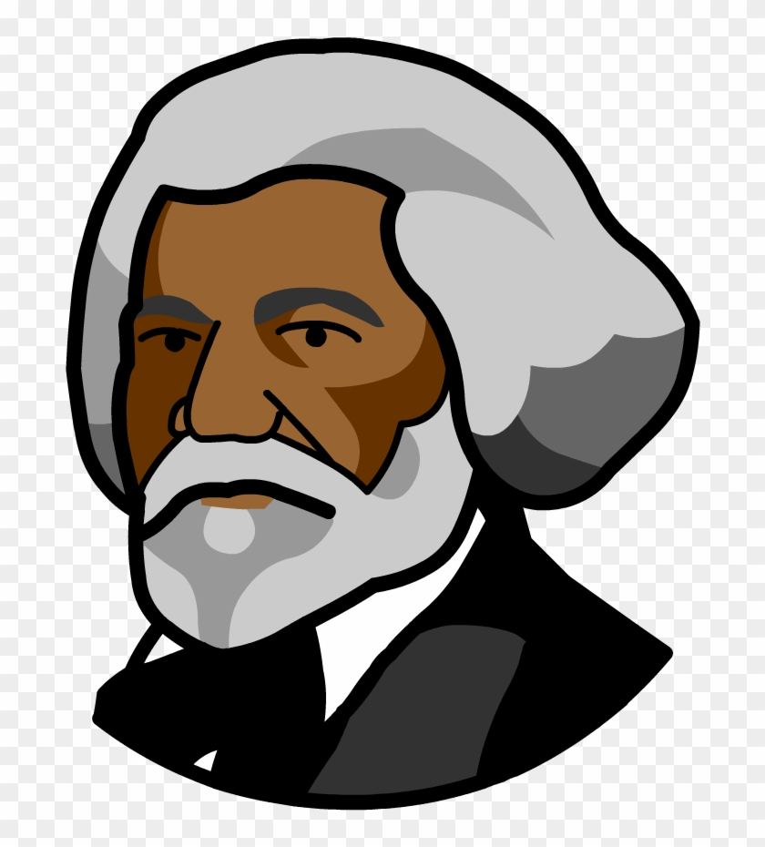 Abraham Lincoln Frederick Douglass Cartoon Drawing Free