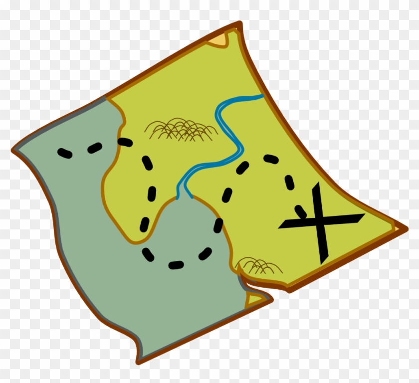 Treasure Map Clip Art #186938