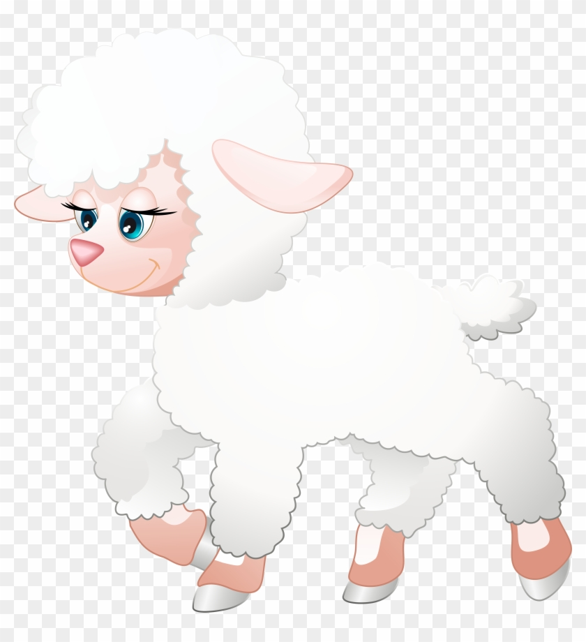 Easter Lamb Clipart Transarent #187019