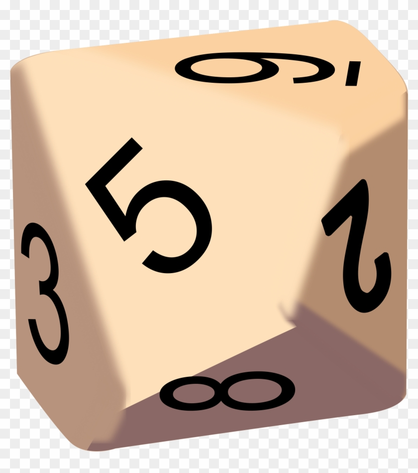 Who Moves First - 10 Sided Interactive Dice #187022