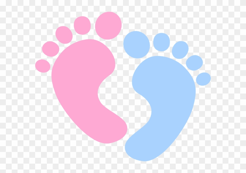 Baby Feet - Pink Baby Feet Clipart #187069