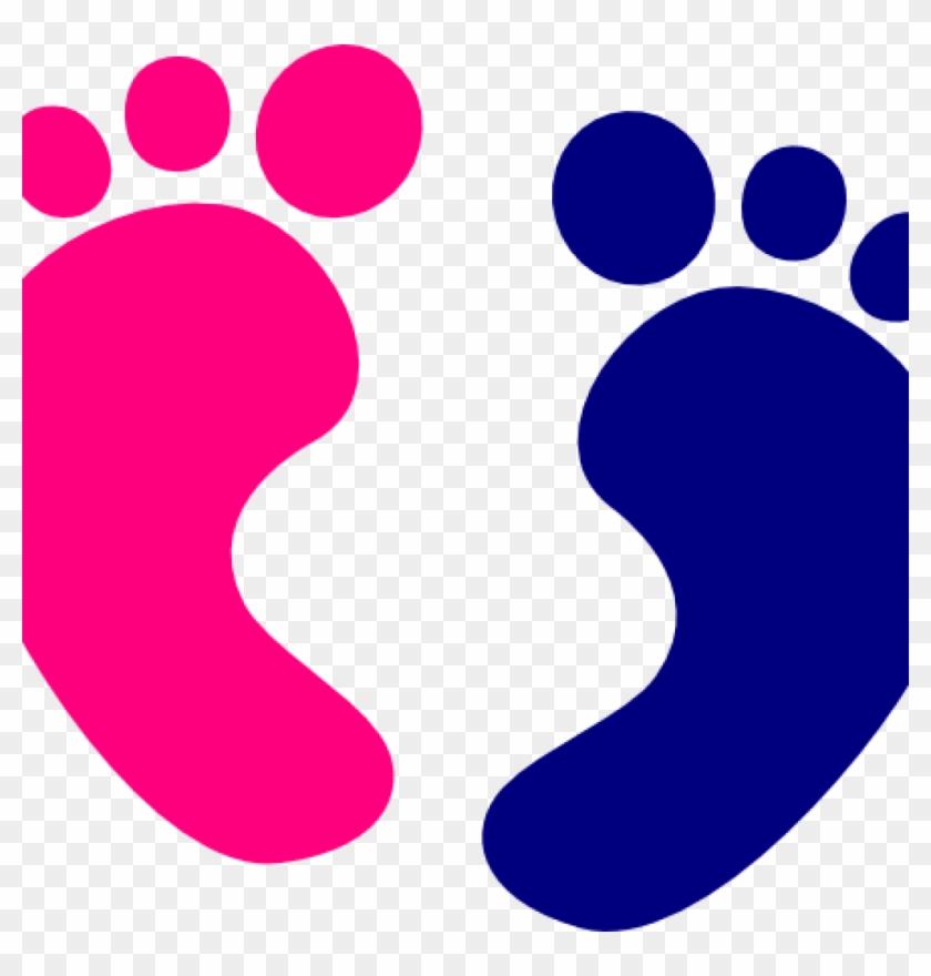 Baby Feet Clip Art Ba Feet Clip Art At Clker Vector - Pink Baby Feet Clip Art #187136