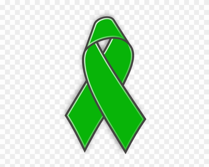 Green Awareness Ribbon Clipart #187283