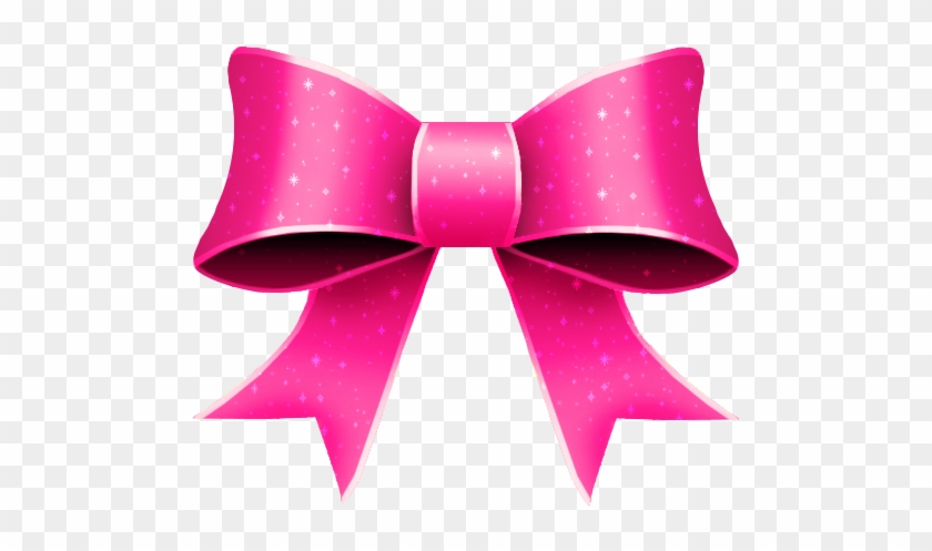 Pink Ribbon Bow Clip Art - Pink Ribbon Clipart #187320