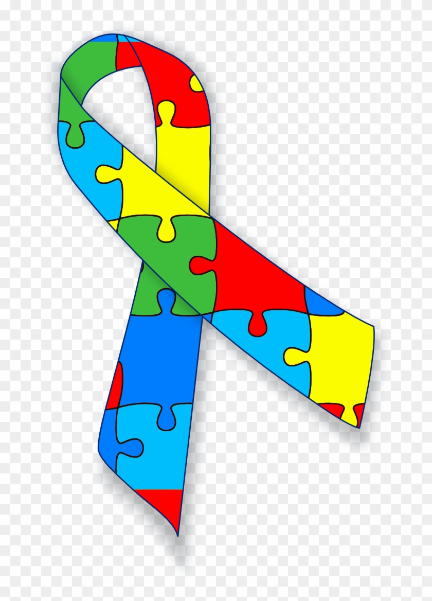 Blue Bow Clip Art Also Mental Health Awareness Ribbon Autism