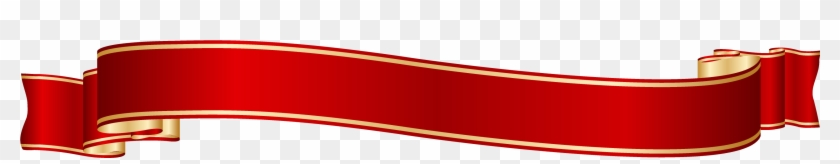 Gold Banner Cliparts - Red And Gold Ribbon Png #187622