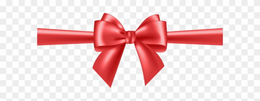 Red Bow Transparent Clip Art - Gold Bow Ribbon Png #187788