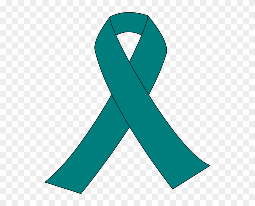 Pcos - Ovarian Cancer Ribbon Vector #188229