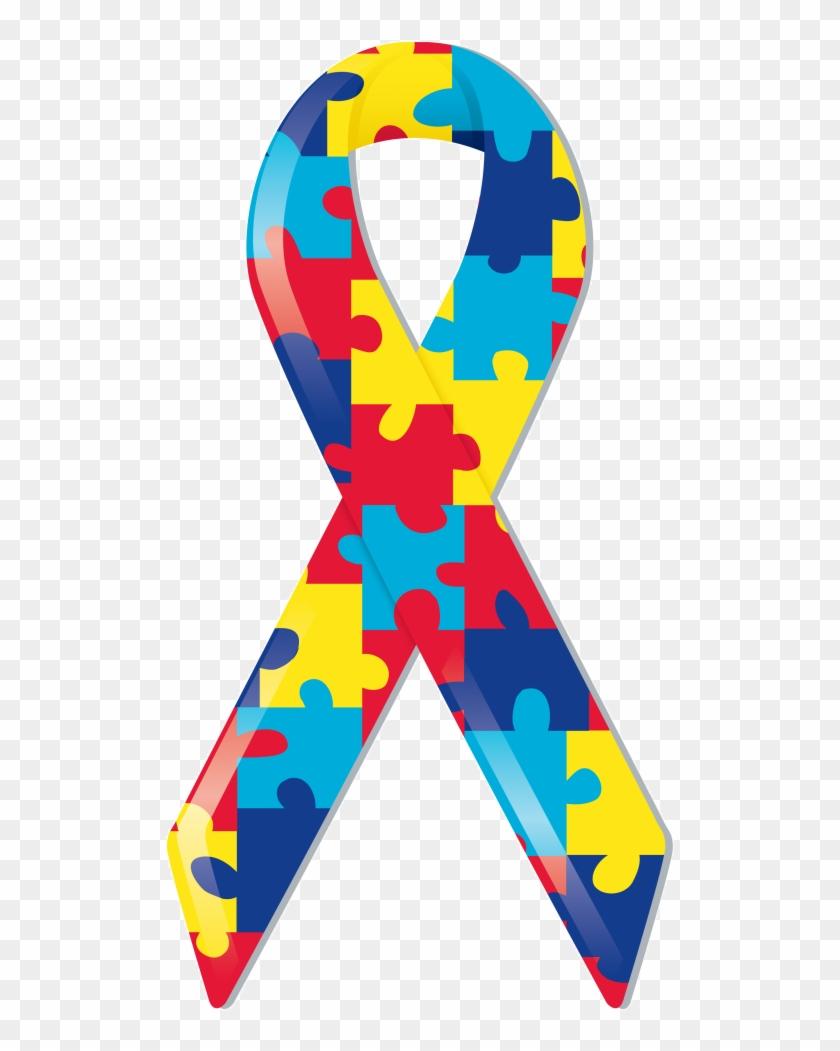 Blue And You Autism Awareness Autism Awareness Ribbon No