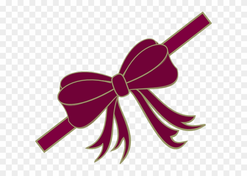 Red Christmas Ribbon Bow Magnets #188420