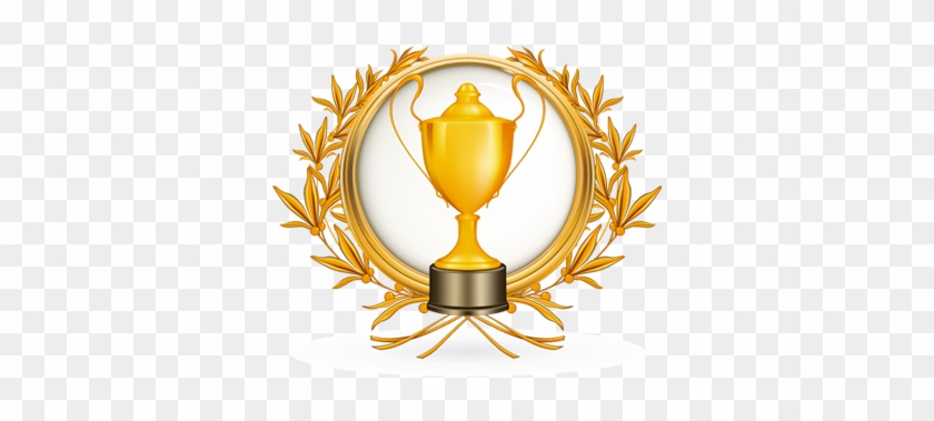 Download Winner Free Png Photo Images And Clipart - Round Golden Award Frame #188462