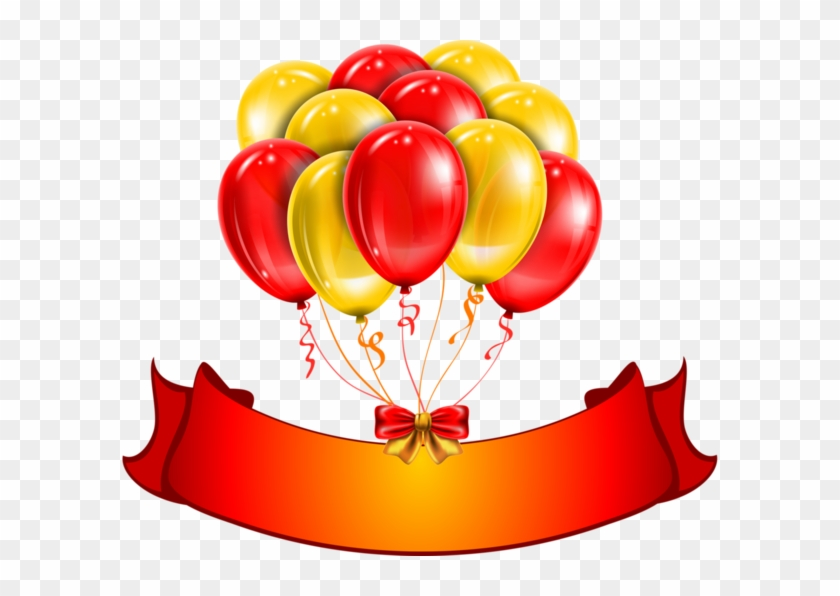 Red And Yellow Balloons #188763
