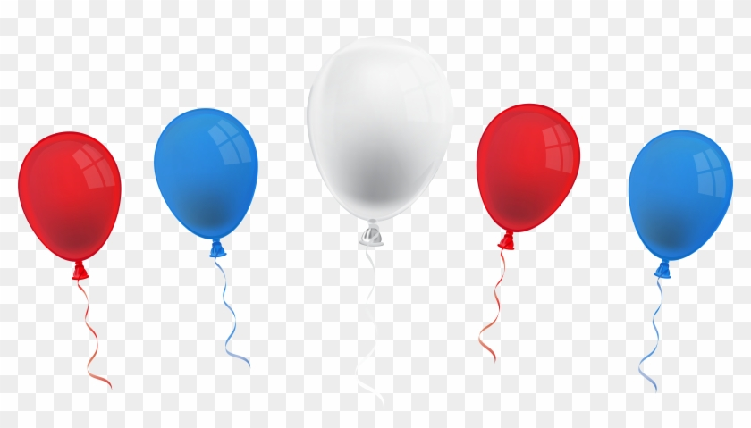 Balloon Clipart 4th July - 4th Of July Balloons Clipart #188818