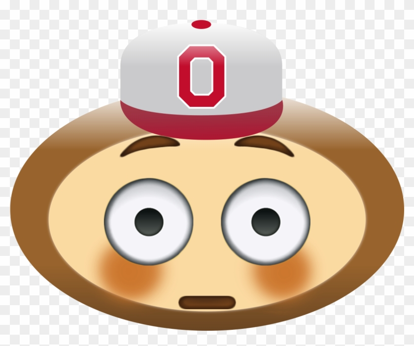 #aprilfools Brutmoji Pack - Crying Ohio State Buckeye #188845