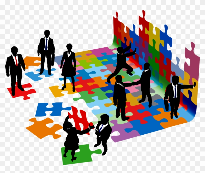 Working Clipart 253 Clipartion Free Download - Working Group Of People #188886