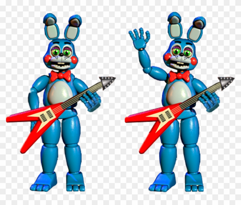 Thank You Extras Toy Bonnie By Realitywarper45 Five Nights At