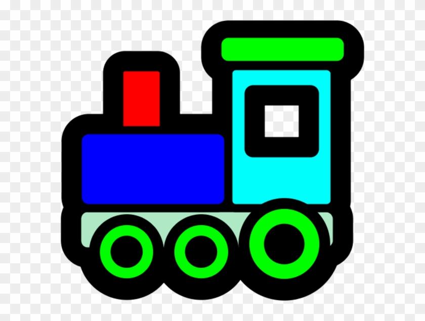 Train Clipart Toy Train - Toy Train Clip Art #189055