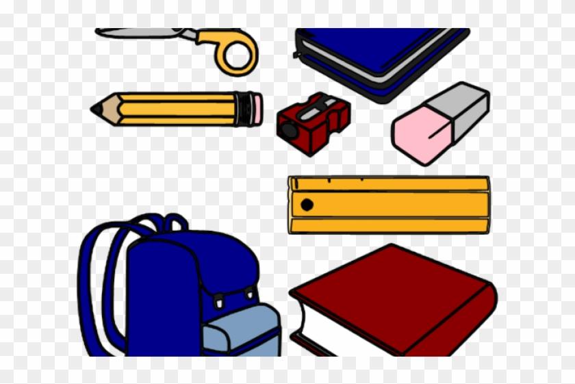 School Things Clipart - School Supplies Clipart Jpg #189115