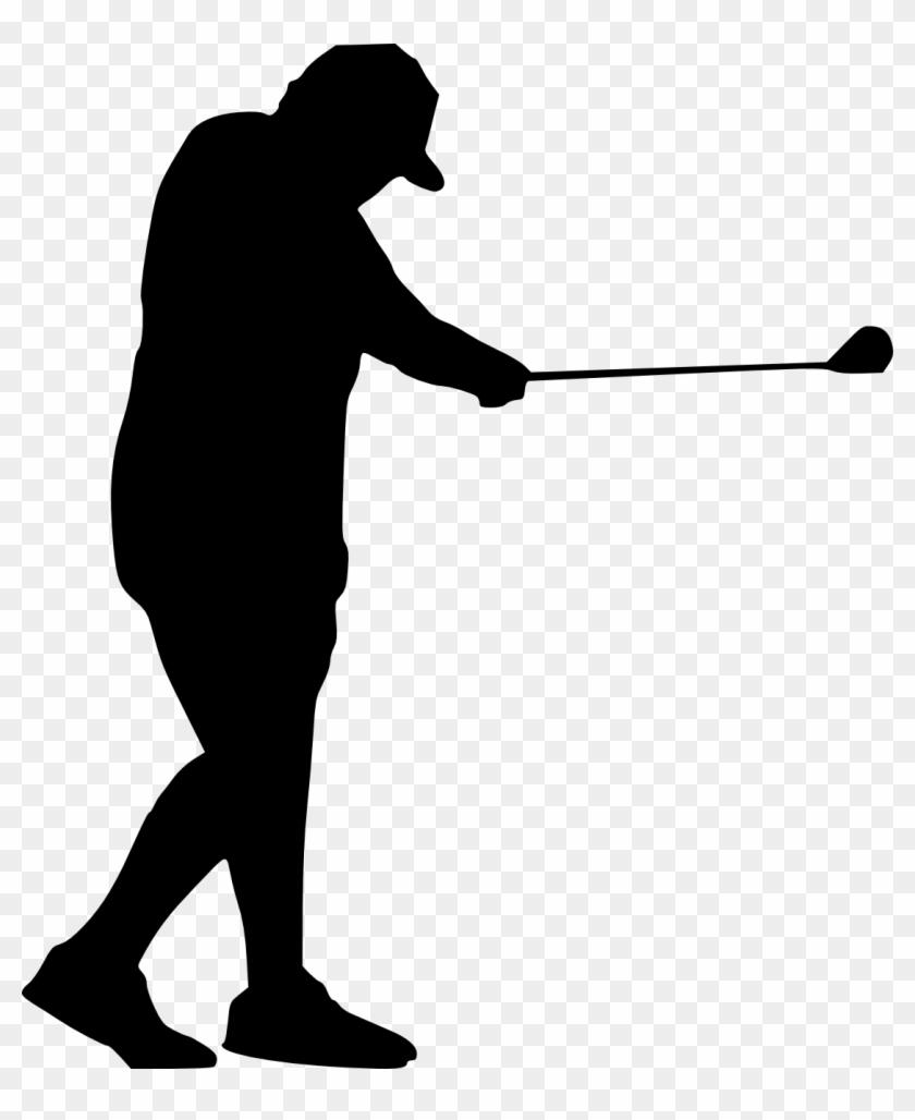 Golf Swing Silhouette - Golf #189126