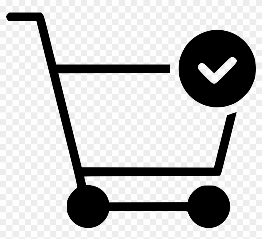 Cart Trolley Buy Done Checkmark Comments - Shopping Cart #189133