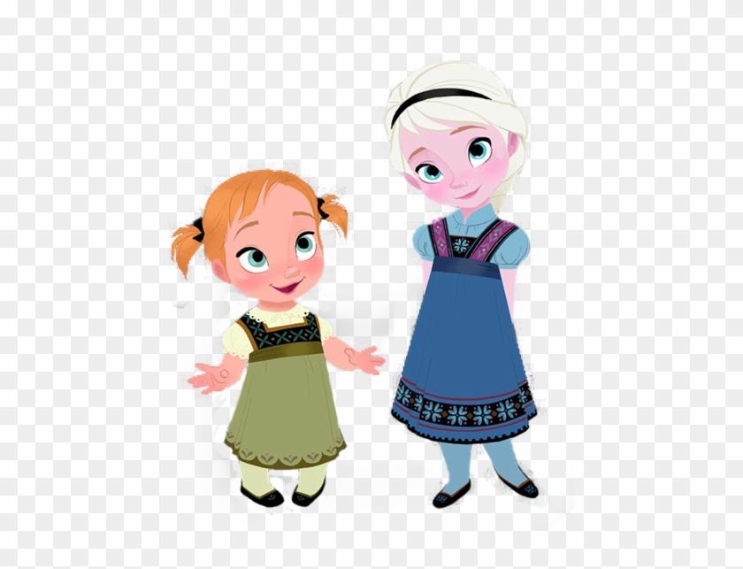 Little Anna And Elsa - Frozen Concept Art #189155