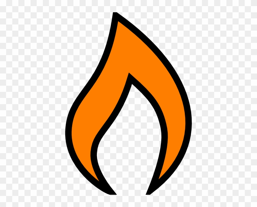 Flames Clipart Single Cartoon Single Flame Free Transparent Png Clipart Images Download