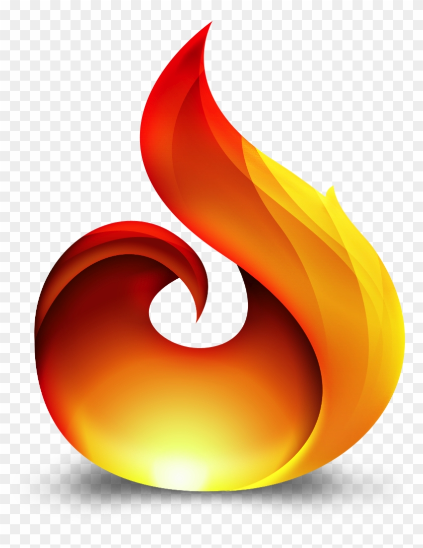 Flame - Flame Logo Png #189218