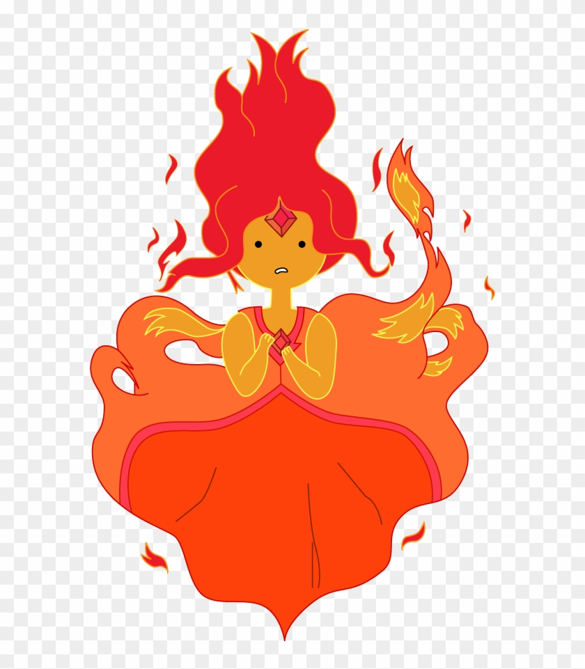 Flame Princess Vector From Adventure Time By Juliefoo - Adventure Time Flame Princess #189237