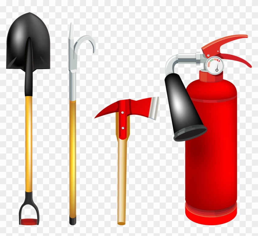 Firefighter Firefighting Tool Clip Art - Tools Used By Firefighters #189289