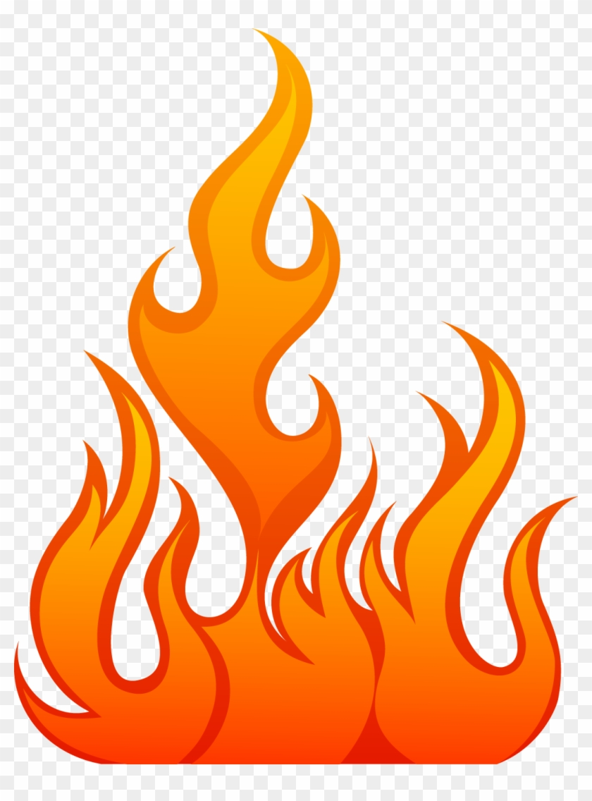 Flame, Fire - Fire Flames Vector #189334