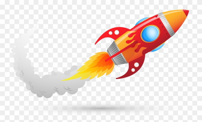 Rocket Clipart Fire Pencil And In Color - Torch In My Room #189343