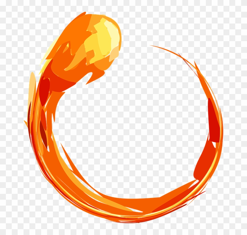 Fire Clipart Translucent - Ring Of Fire Png #189392