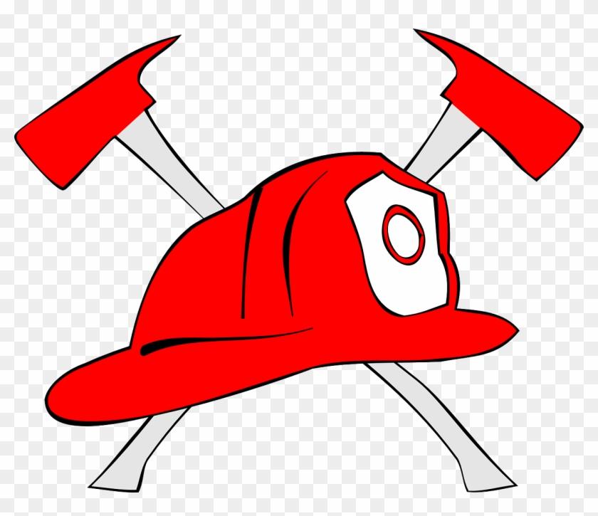 Firefighter Clip Art - Firefighter Clipart Hat #189397