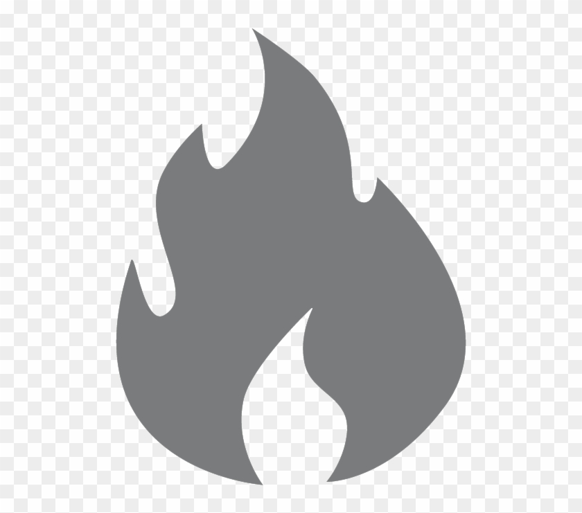 Fire Icon Fixed Smoke Detector Icon Grey Free Transparent Png