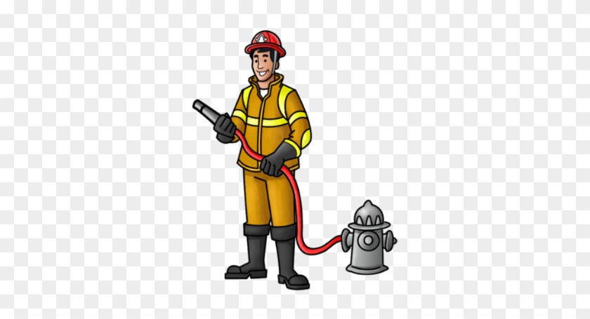 India Clipart Fireman - Firefighter Images For Kindergarten #189595