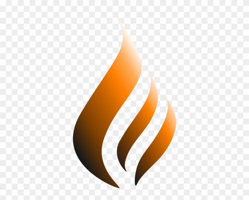 How To Set Use Orange Logo Flame Svg Vector Abstract Flame