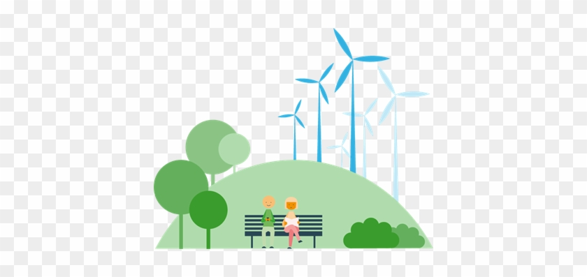 Technological Development Increases The Efficiency - Wind Turbine #1103138