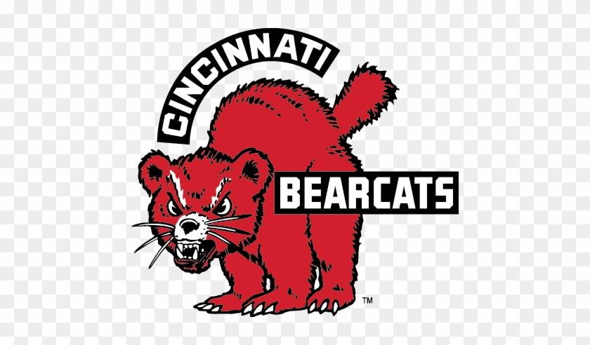 1 Cincinnati Bearcats Vintage Logo Free Transparent Png Clipart