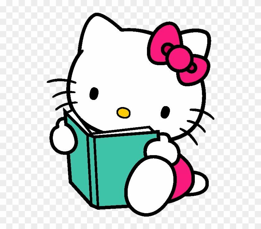 Hello Kitty Online Book Clip Art - Back To School Hello