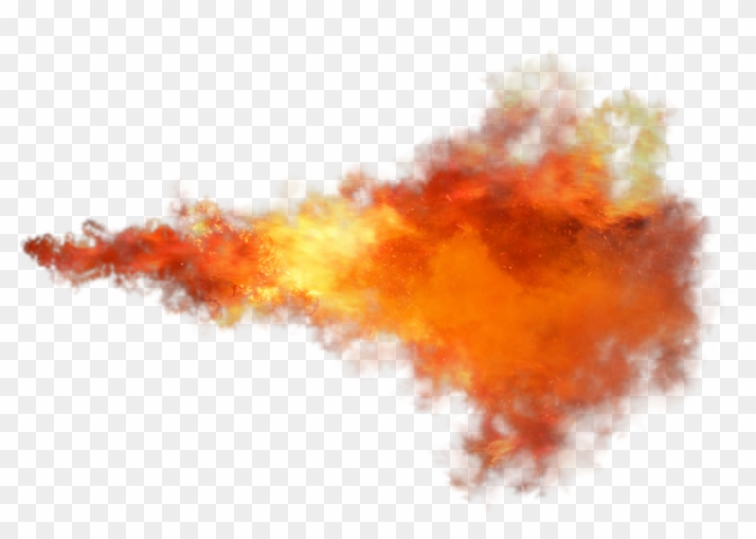 Fireball Flame Fire Png Image Fire Trail Transparent Background
