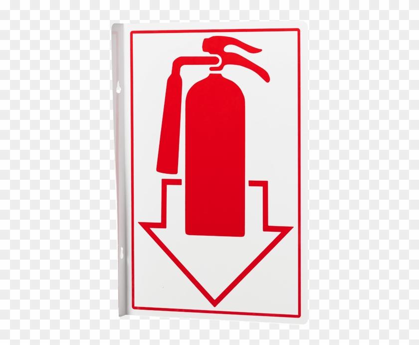 Знак огнетушителя в картинках по гост