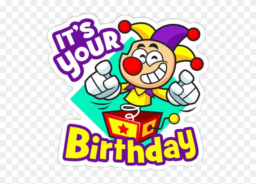 Birthday Cake Sticker Emoticon Clip Art
