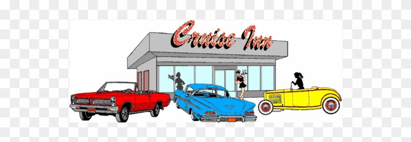 Fifties diner christmas clip art. 1950s fifties style diner, restaurant,  burger joint or car hop decorated for the holidays