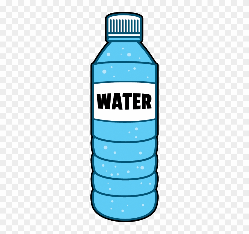 Water Bottle Graphic: Water Bottle Clipart Three Water